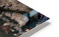 LakeLouiseCanoes HD Metal print