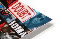 Rock & Roll Stickers HD Metal print