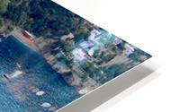 Aerial view of Positano Beach - Italy HD Metal print