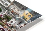 Positan village -  colourful houses HD Metal print