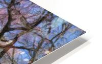 Abstract Cherry Blossom tree HD Metal print