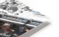 B&W Intricate Details - DTLA HD Metal print