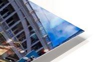 Newcastle railway bridge Impression metal HD