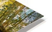 Waterfall in the Woods HD Metal print