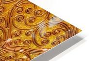 Golde pattern HD Metal print