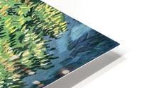 Blossoming chestnut tree by Van Gogh HD Metal print