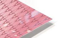 Arabic Pink Art HD Metal print