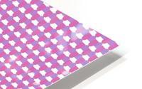 Pink Pattern Artwork HD Metal print