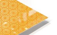 Orange Seamless Pattern Art HD Metal print