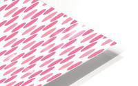 Pink Seamless Pattern Artwork HD Metal print