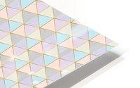 Hexagon Color Art Pattern HD Metal print