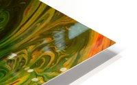 Bubbles Reimagined 36 HD Metal print