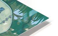 Frunkee HD Metal print