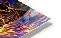 Colorful space HD Metal print