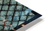 Les bleus vitraux -  Contemporary Art Impression metal HD