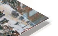 Fifth Avenue in Winter by Hassam HD Metal print