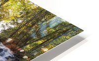 Trahlyta Waterfall HD Metal print