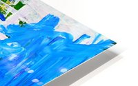 Blue Cascade. Katie J HD Metal print