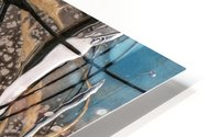 3094 - OD steal bleu HD Metal print