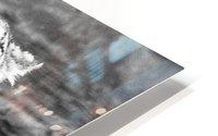 SNOW LEOPARD HD Metal print
