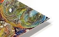 Mosaic Seashells HD Metal print
