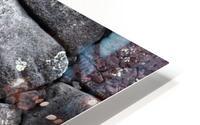 Lava brick HD Metal print