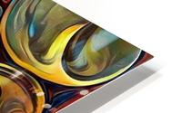 Seashell Colorful Pattern HD Metal print