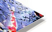 Koi Carp Huddle HD Metal print