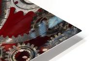 Mechanical Love HD Metal print
