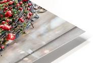 Christmas at a Museum Copenhagen HD Metal print