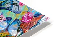 Colorful Floral Abstract  HD Metal print