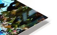 Approach To Cubist Villa Jardin Majorelle HD Metal print