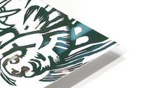Tiger -2- by Franz Marc HD Metal print