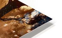 hirsch wild antler nature forest HD Metal print