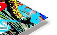 Color Elephant HD Metal print