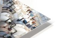 The Rail Yard - HDR HD Metal print