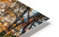 Smokey Mountain River HD Metal print
