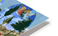 The Deposition from the Cross HD Metal print