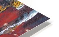 Red Massai HD Metal print