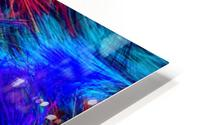 Colored Lines HD Metal print