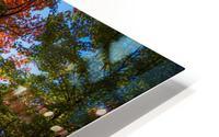 A fall colors tree Impression metal HD