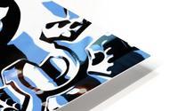 Gears HD Metal print