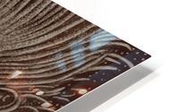 Full Bloom Sepia HD Metal print
