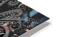 Nova Greyscale HD Metal print