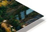 Johnson Canyon Trail Falls Long Exposure HD Metal print
