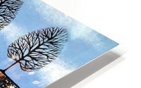 Trees Of Winter HD Metal print