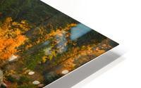 Emerald Flow HD Metal print