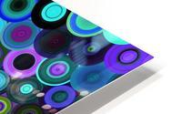 generated_Glitch43 HD Metal print