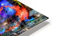 Modern Trendy Abstract Art HD Metal print