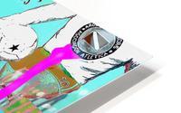 Argentinos King HD Metal print